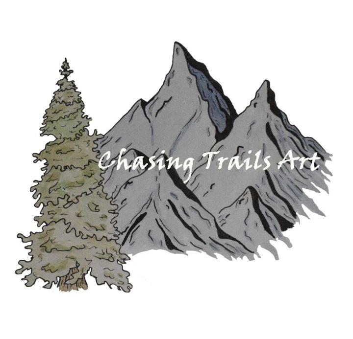 Chasing Trails Art